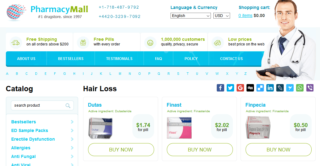 Pharmacy Mall Home Page