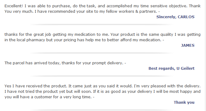 Texas Chemist Customer Reviews